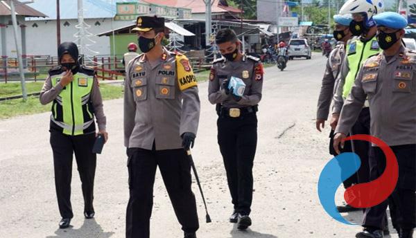 Kapolres SBB Maluku Beserta Jajarannya Siap Divaksin Covid-19