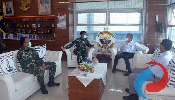 Permalink ke Pangkoarmada II Sambut Kunjungan Kerja GM PLN UID Jatim