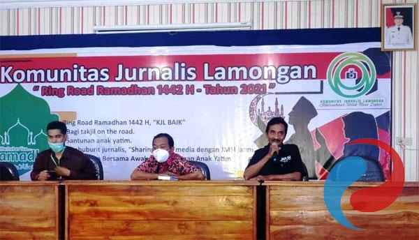 28 Wartawan Lamongan 'Digembleng' Syaiful Anam JMSI Jatim