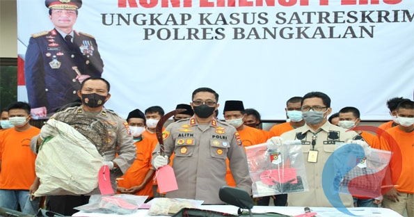Permalink ke Satreskrim Polres Bangkalan Amankan Pelaku Pembakaran di Kwanyar