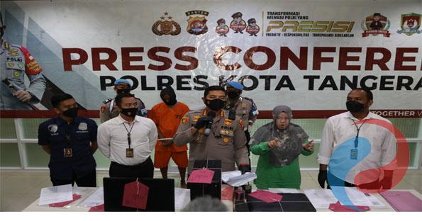 Permalink ke Polresta Tangerang Amankan Pelaku Pemalsuan SKCK