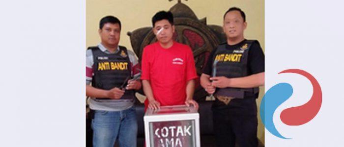 Pencuri Kotak Amal Mushola Dibekuk Reskrim Polsek Lakarsantri