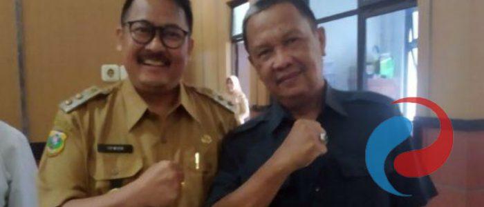Wabup Irwan Bachtiar Rahmat Silaturahmi dengan Ketua DPRD Bondowoso