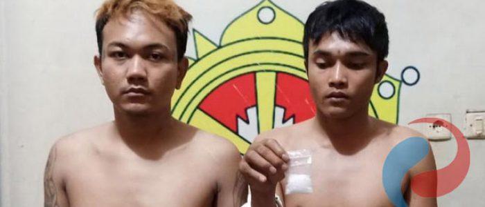 Bawa Sabu, Dua Warga Tambaksari Dibekuk  Reskrim Polsek Pakal