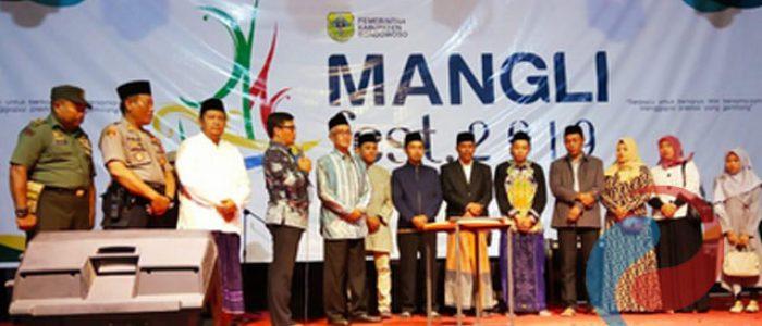 Bupati  Bondowoso Buka Mangli Festival 2019