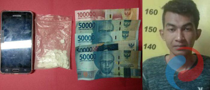 Edarkan Pil Koplo, Warga Penambangan Dibekuk Resnarkoba Polres Bondowoso