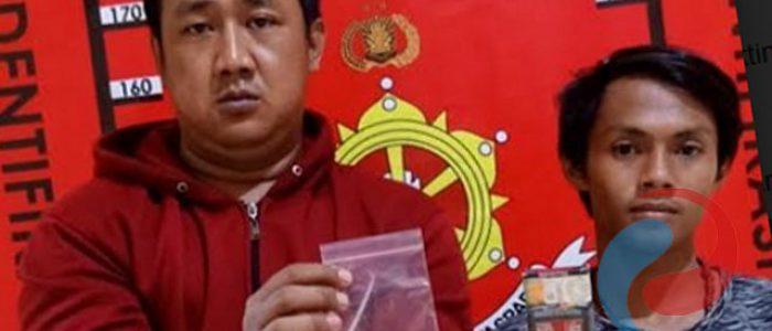 Hendak Konsumsi Sabu, Dua Pemuda Diamankan Polsek Wiyung