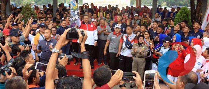 SBY Resmikan Groundbreaking Pembangunan Museum dan Galeri Seni SBY-ANI