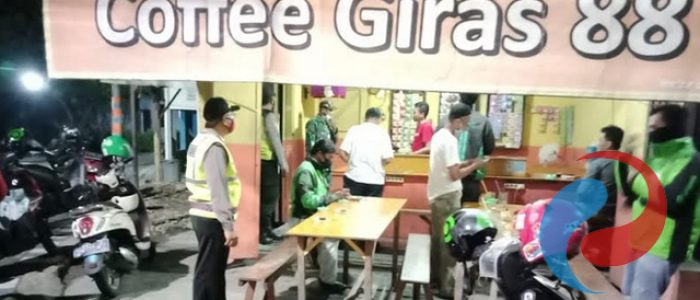 Polsek Lakarsantri Bersama Tiga Pilar Sosialisasi di Cafe dan Warkop