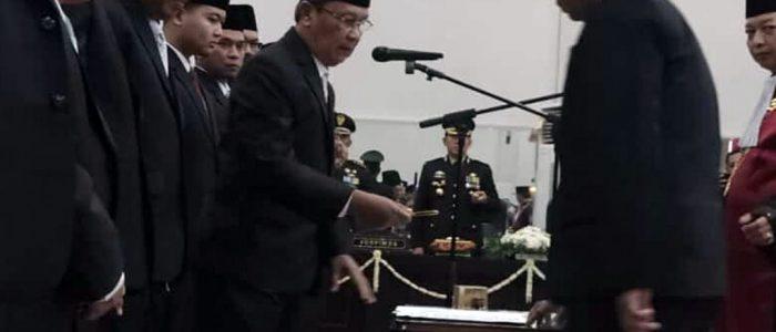 Sebanyak 45 Anggota DPRD Bondowoso Dilantik