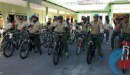 Permalink ke Dandim Bondowoso Bersepeda Santai Bersama Anggota dan Perwira Kodim
